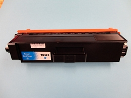 Brother TN325C toner cyaan hoog volume  (Huismerk)