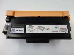 Brother TN3390 toner zwart superhoog volume  (Huismerk)