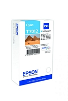Epson T7012 inktpatroon cyaan superhoog volume  (Origineel)