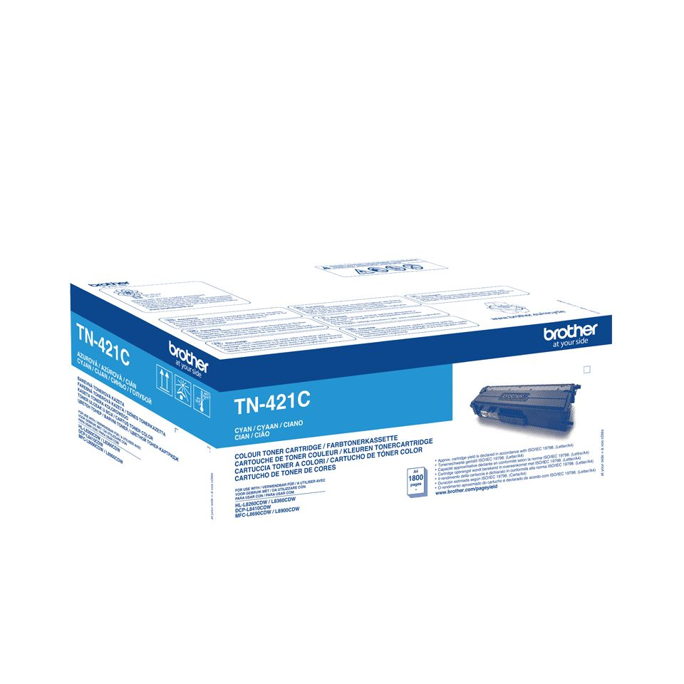 Brother TN421C toner cyaan (origineel)